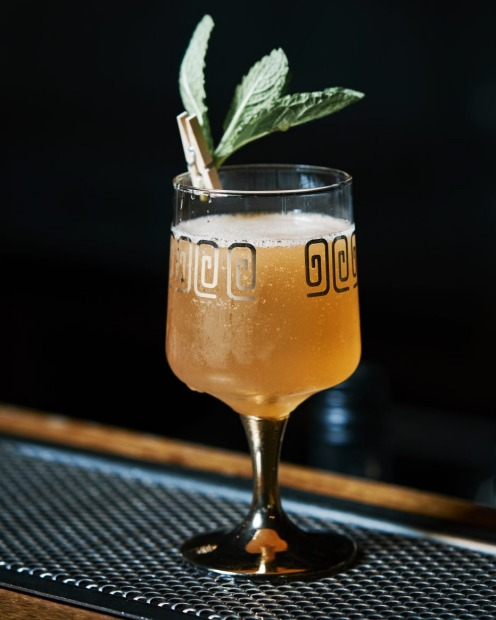 Fred Siggins' Old Cuban with rum, lime, bitters and sparkling wine will add a distinctive flavour to Christmas drinks <a ...