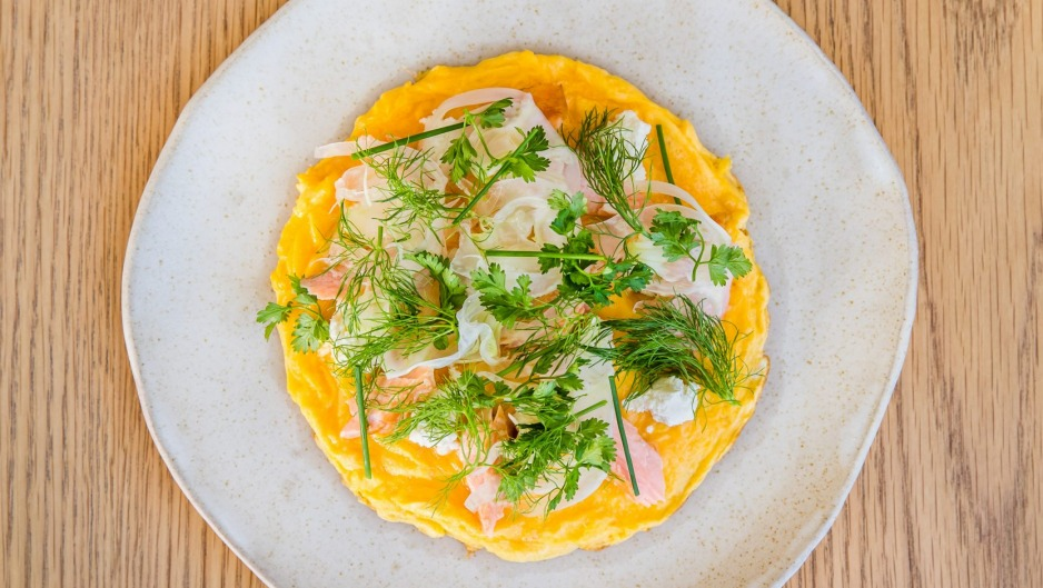 Don't expect plain eggs and toast at Auto.Lab - the menu includes highly original brunch dishes, such as omelette with ...