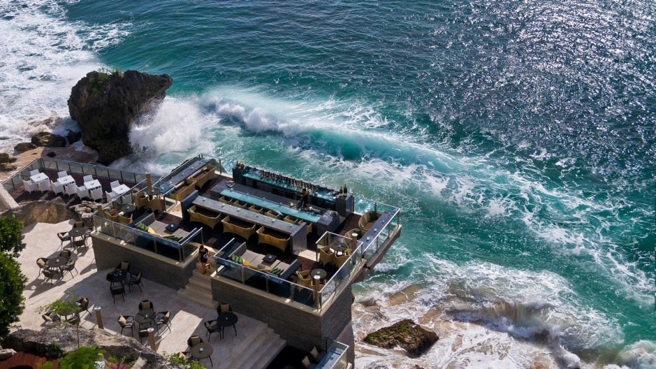 Rock Bar at the Ayana Resort Bali.
