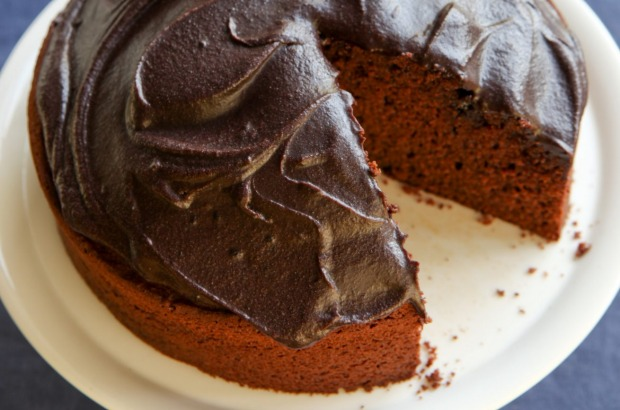 Caroline Velik's fast and easy chocolate cake <a ...