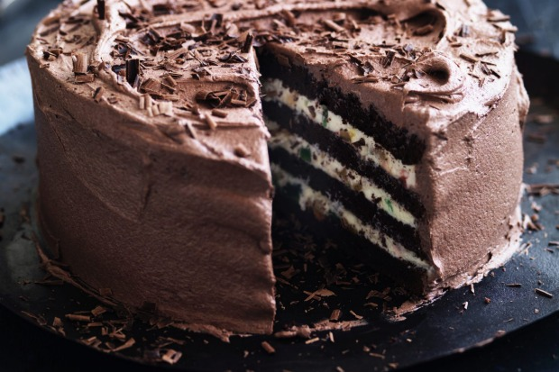 Neil Perry's chocolate and ricotta cake <a ...