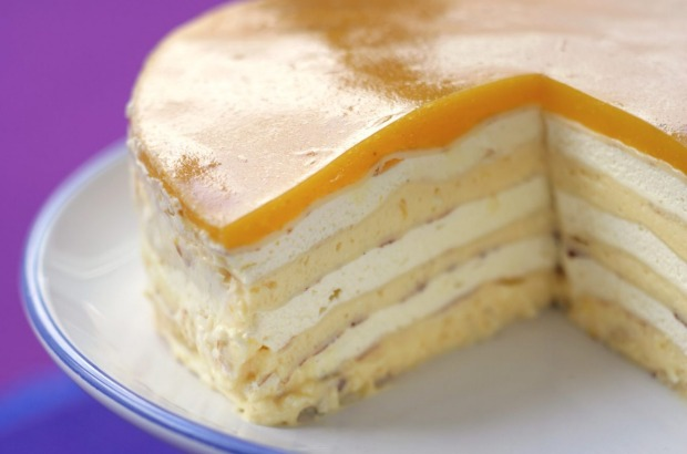 Stephanie Alexander says her lemon curd layer cake was a hit in the '80s <a ...