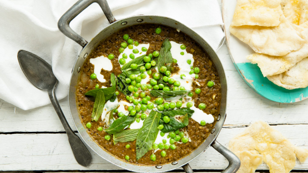 The Blue Ducks' mixed-grain dhal is a convenient and healthy mid-week dinner recipe.
