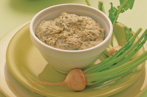 French Onion Dip was a delightful spread made from a packet soup mix. Mmm. <a ...