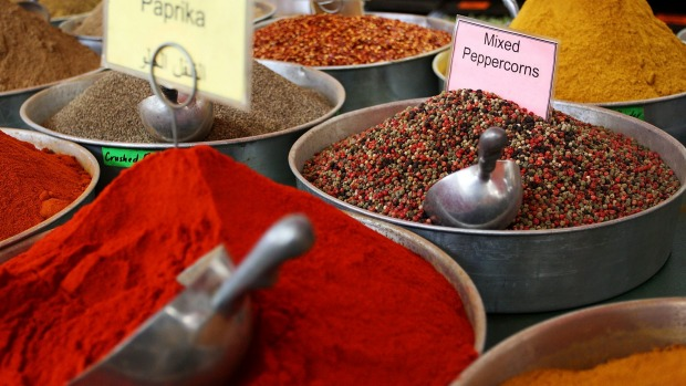Toasting spices results in more complex flavours.