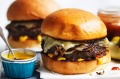 Adam Liaw's easy cheeseburgers.