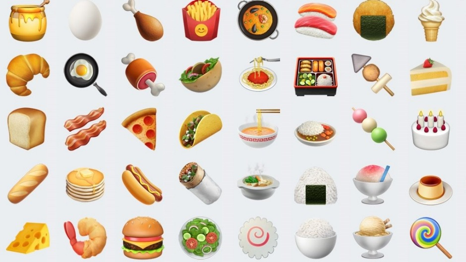 The New Food Emojis To Expect In 2017