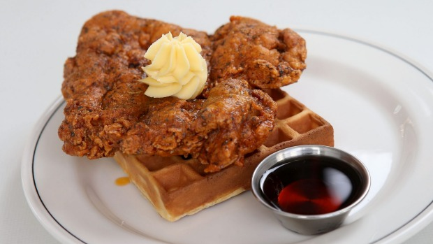 Farewell fried chicken and waffles.