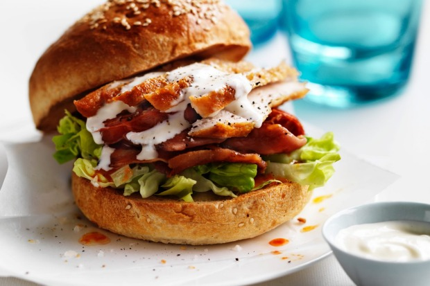 Beat the heat with no oven dinner recipes photo marcel aucar grab a roast chook from your local supermarket for neil perrys roast chicken burger a forumfinder Choice Image