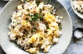Adam Liaw's belly-warming garlic fried rice.