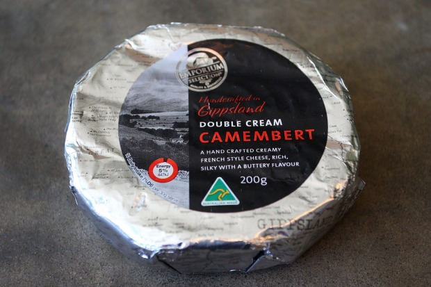 Emporium Double Cream Camembert, $2.25 per 100g, 58/100