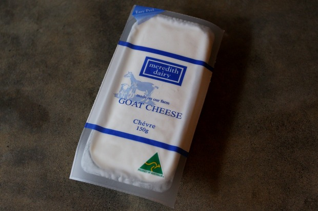 Meredith Dairy Plain Goat Cheese, $5.99 per 100g  84/100