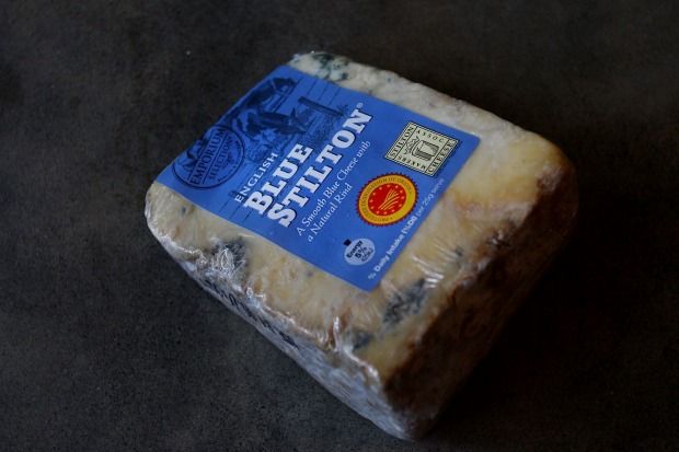 Emporium Selection English Blue Stilton, $2.98 per 100g, 58/100