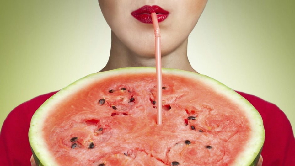 Watermelon juice is the new coconut water.