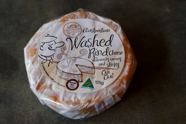 Emporium Selection Australian Washed Rind, $3.19 per 100g, 65/100