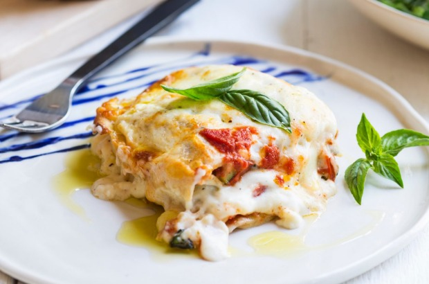 Or try her seasonal vegetable lasagne <a ...