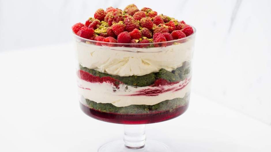 Chef Guillaume Brahimi has been making variations of this show-stopping trifle for a long time.