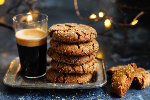 Dan Lepard's spicy ginger Christmas biscuits <a ...