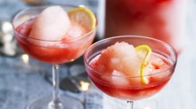 Make ahead: Adam Liaw's Campari frose punch.
