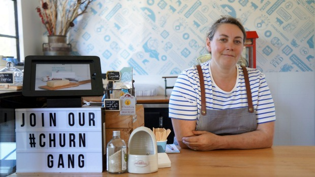 Naomi Ingleton of King Valley Dairy has created a bespoke patissiere-friendly sheet butter.