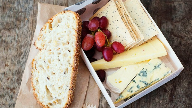 SYDNEY, AUSTRALIA - MARCH 26: Cheese Board from the Sydney Royal Beer & Wine Garden at the Royal Easter Show on March ...