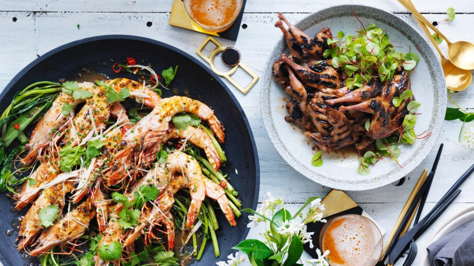 neil perry 39 s asian inspired barbecue christmas feast