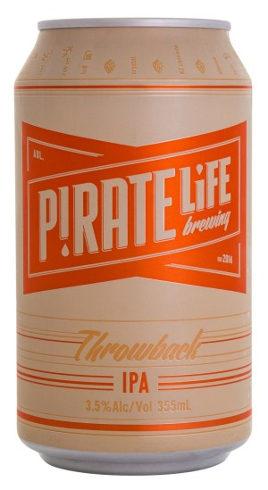 Pirate Life, Throwback IPA, 3.5% ABV