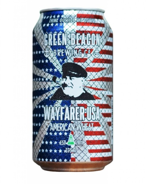 Green Beacon, Wayfarer USA, 4.9% ABV