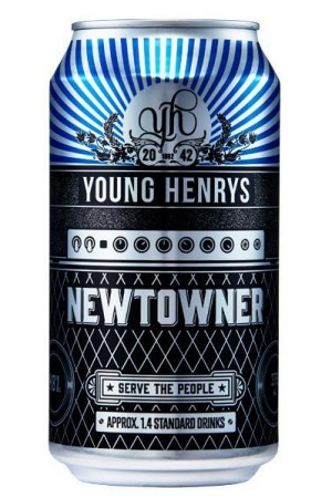 Young Henrys, Newtowner Pale Ale, 4.8% ABV