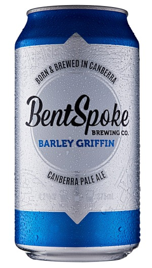 Bentspoke Brewing Co., Barley Griffin Canberra Pale Ale, 4.2% ABV