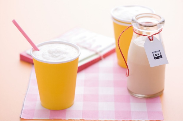 You can't 'fudge' the fact that this caramel milkshake isn't the healthiest option. But it sure tastes great. <a ...