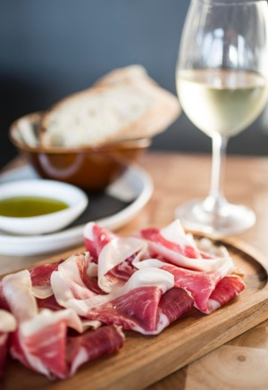 Iberico jamon at Born by Tapavino.
