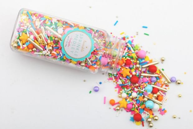 Add some pizzazz with a smattering of Sweetapolita sprinkles, $19.95 (165g), available via Melt. baking supplies, <a ...