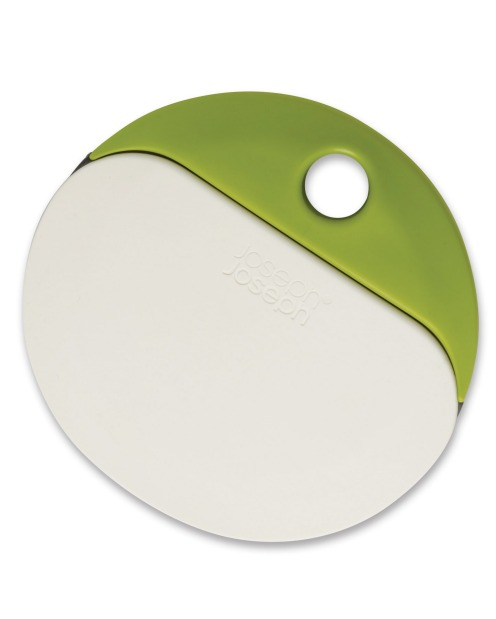 Joseph Joseph's rubber bowl scraper and metal dough cutter snap together with a nifty magnet, $34.95, available at ...