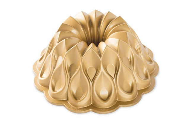 Nordic Ware's suitably opulent crown bundt cake pan is fit for a baking queen (or king), $77.95, <a ...