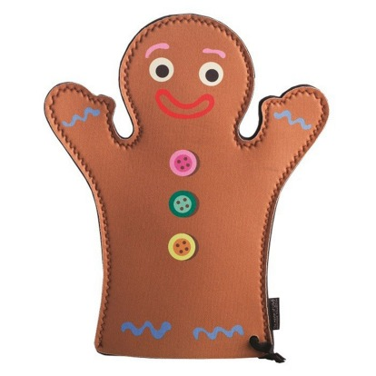 This gingerbread oven mitt is as cute as the character in Shrek, $17.99, <a ...