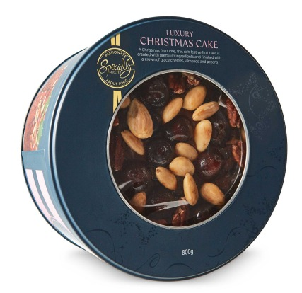 Specially Selected Luxury Christmas Cake 800g, $10.99, 7.9/10