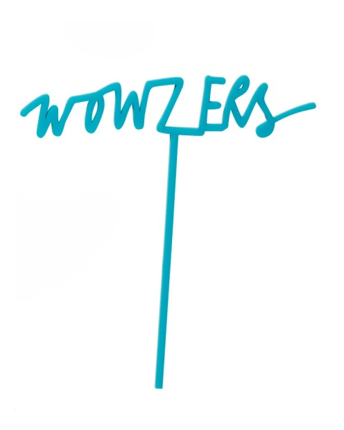 Wowzers! Plastic (reusable) cake topper, $29.95, <a ...