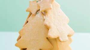 Biscuit Christmas tree.