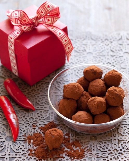 Or try these chocolate truffles with a chilli kick <a ...