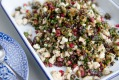 Michael Rantissi's cauliflower and cranberry salad.