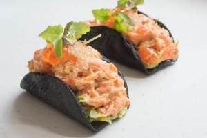 Go-to dish: Smoked trout and avocado tacos.