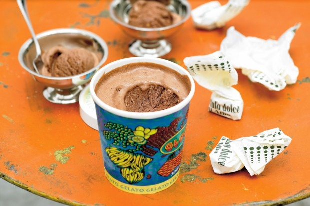 The choc-hazelnut combo is even more amazing chilled. This semifreddo recipe proves it. <a ...