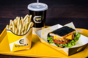Burgers with a rice-based twist at Gojima.