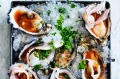 Adam Liaw's super-easy cold Kilpatrick oysters.