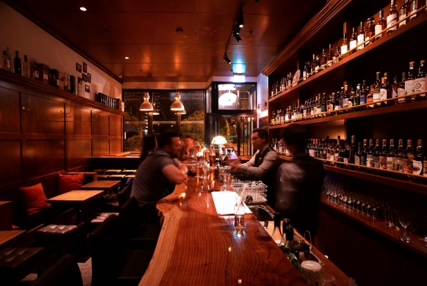 The Elysian whisky bar is also on Brunswick Street.