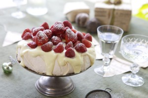 Adam Liaw's sure-fire strawberry pavlova is a safe bet.