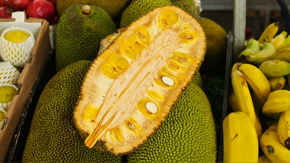 Jackfruit is commonly used as a vegan substitute for pulled pork.