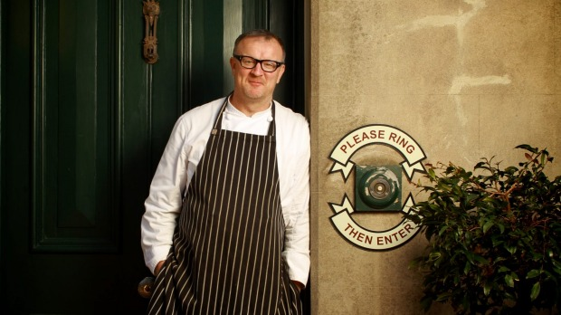 Michael Ryan outside his award-winning restaurant, Provenance, which is having a makeover.