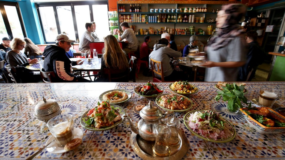 Banquet dishes at Moroccan Deli-cacy.